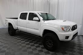 Pre-Owned 2015 Toyota Tacoma Double Cab TRD Sport 4X4 Truck in ...