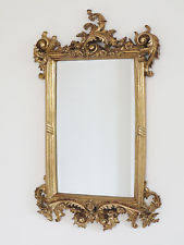 mirror gold frame. 62cm french baroque rococo gold metal frame antique ornate wall mounted mirror