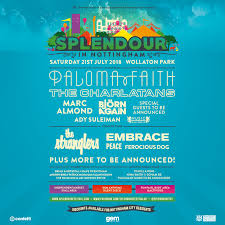 an epic line up of legends has been added to our special 10th birthday bash of splendour with the charlatans joining headliner paloma faith on the