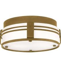 Attractive Visual Comfort Flush Mount Visual Comfort Ted 2 Light Inch Hand Rubbed  Antique Brass Flush Mount . Visual Comfort Flush Mount ...