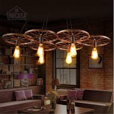 cheap office lighting. Industrial Large Pendant Lights Wrought Iron Lighting Office Bar Hotel Kitchen Island Brown Light Antique Cheap N