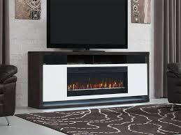 black fireplace entertainment