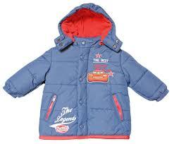 baby boy coat jacket cars winter warm lightning