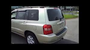Jacksonville Used Cars - 2003 Toyota Highlander - YouTube