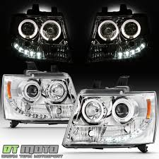 2011 Suburban Daytime Running Light Bulb Details About 2007 2014 Suburban Tahoe Avalanche Drl Led Projector Halo Headlights 07 14 Lamps