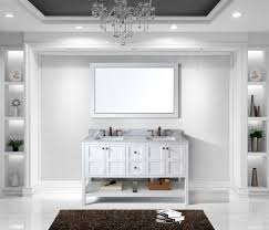 60 Bathroom Cabinet Virtu Usa Winterfell 60 Bathroom Vanity Cabinet In White
