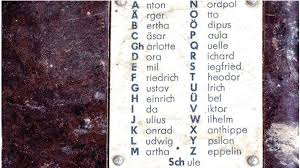 Wikipedia has tons of comprehensive information, but can be confusing to a beginner. Germany To Wipe Nazi Traces From Phonetic Alphabet The Chronicle