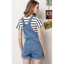 plus size overalls shorts sokotoo womens plus size blue denim overalls shorts summer pocket