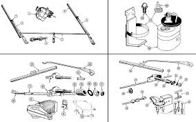 morgan motors wiper parts diagram