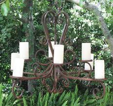montecito antique chandelier