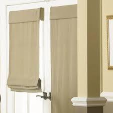 romanshadesforfrontdoor door window coverings f96