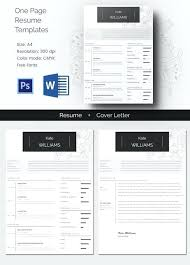 One Page Fresh Resume Templates Pages Cv Template Mac – Onairproject ...