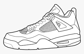 Color over 4,283+ pictures online or print pages to color and color by hand. Jordan Air Jordans Coloring Pages Unique Collection Jordan 4 Easy Drawing Hd Png Download Transparent Png Image Pngitem