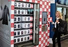 Uniqlo Vending Machine Beauteous Japanese Retailer Uniqlo Has Opened Airport Vending Machines With