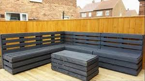 pallet furniture. garden furniture made from pallets pallet