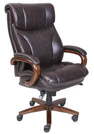 leather office chair amazon. La Z Boy Trafford Big \u0026 Tall Executive Bonded Leather Office Chair - Vino (Brown Amazon R