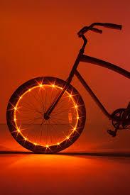 Orange Wheel Lights Wheel Brightz Orange