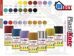 Plastikote Colour Chart Plastikote Fast Dry Enamel Aerosol