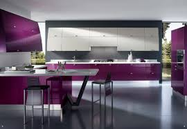 Purple Kitchen Cabinet Doors Red Kitchen Cabinets What Color Walls Tags Red Kitchen Design
