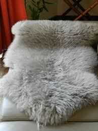 unusual ideas design gray sheepskin rug fresh grey sheepskin rug