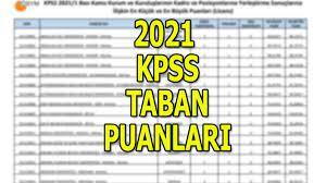 KPSS yerleştirme taban puanları 2021! KPSS tercih puanları nedir? - Son  Dakika Milliyet