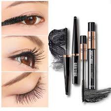 dels about 2 4d black eye lashes women big eyes maa makeup extension silk fiber eyelash