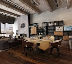 Rustic Office Design Three Homes With A Contemporary Twist On Rustic Design