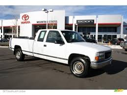white chevy trucks 1995. Interesting 1995 White Chevrolet CK 2500 Throughout Chevy Trucks 1995 I