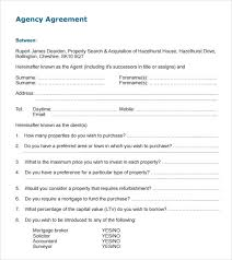 Sample Agency Contract - Kleo.beachfix.co