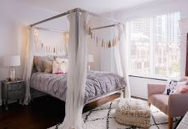 Best Canopy Bed Ideas Four Poster Beds Within Curtains Prepare ...