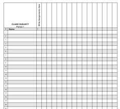 Grade Book Template Microsoft Word Gradebook Template