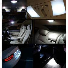 2015 Honda Civic Led Interior Lights Us 16 24 35 Off Jgaut 11pcs Led White Map Dome License Plate Light Bulbs For Honda Civic 2012 2015 Light Bulbs Interior Package Kit In Signal Lamp