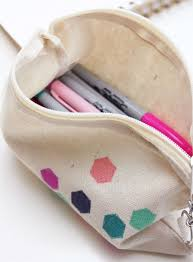boring clear case no more we ve got the answers to your pencil pouch dreams try your hand at one of these diy bags to stash your supplies in style