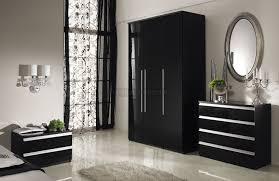 bedroom furniture black gloss. delighful furniture brilliant black gloss bedroom furniture white marble floor floral curtain  design in n