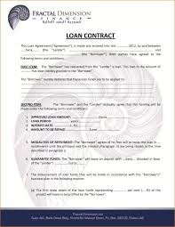 example short form short form loan agreement template report example purchase proposal