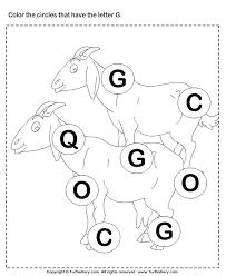 identifying letter g
