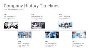 Company History Timelines Diagrams Google Slides Presentation