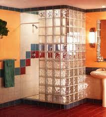 install a glass block shower wall