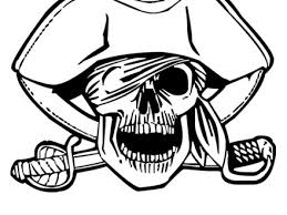 41 Skull And Crossbones Coloring Page Maltese Cross Template Sketch