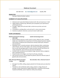 ... Prepossessing Resume Examples for Medical Jobs About Medical assistant  Re Mendation Letter Letter Of Reference Cover ...