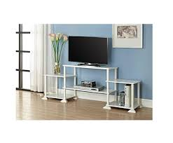 Tv Entertainment Stand Amazoncom White Tv Stand For Tvs Up To 40 Entertainment Center