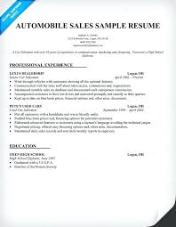car sales resume sample assistant manager resume sample automotive