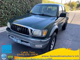 used 2002 toyota tacoma in garden grove california sdline motors garden grove