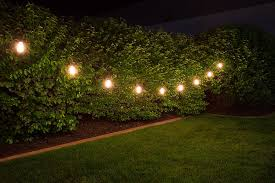 trees led outdoor string lights