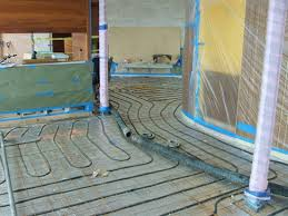 Heated Bathroom Floor Cost Impressive Breathtaking Heated Concrete Floor Radiant Heating How To Heat The