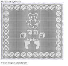 Filet Crochet Patterns Gorgeous Ravelry Filet Crochet For Baby Vol 48 Patterns