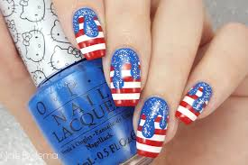 Gel Nail Designs For 4th Of July 30 Best 4th Of July Nail Art Designs Cool Ideas For
