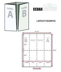 4 Panel Brochure Template 4 Panel Brochure Template Indesign Fold Gate Z 9 X Templates