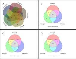 Venn Diagram Bioinformatics Computational Analysis Of Transcription Factor Binding Motifs In Co