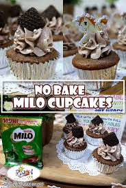 No Bake Milo Cupcakes Recipe